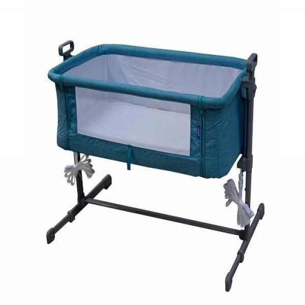 Cuna moisés colecho Infanti Azul