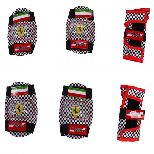 Set de protectores Ferrari Rojo