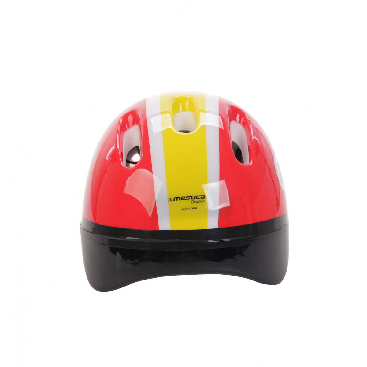 Casco de seguridad niños Ferrari rojo