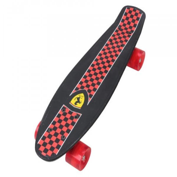 Skate para niños Ferrari Negro