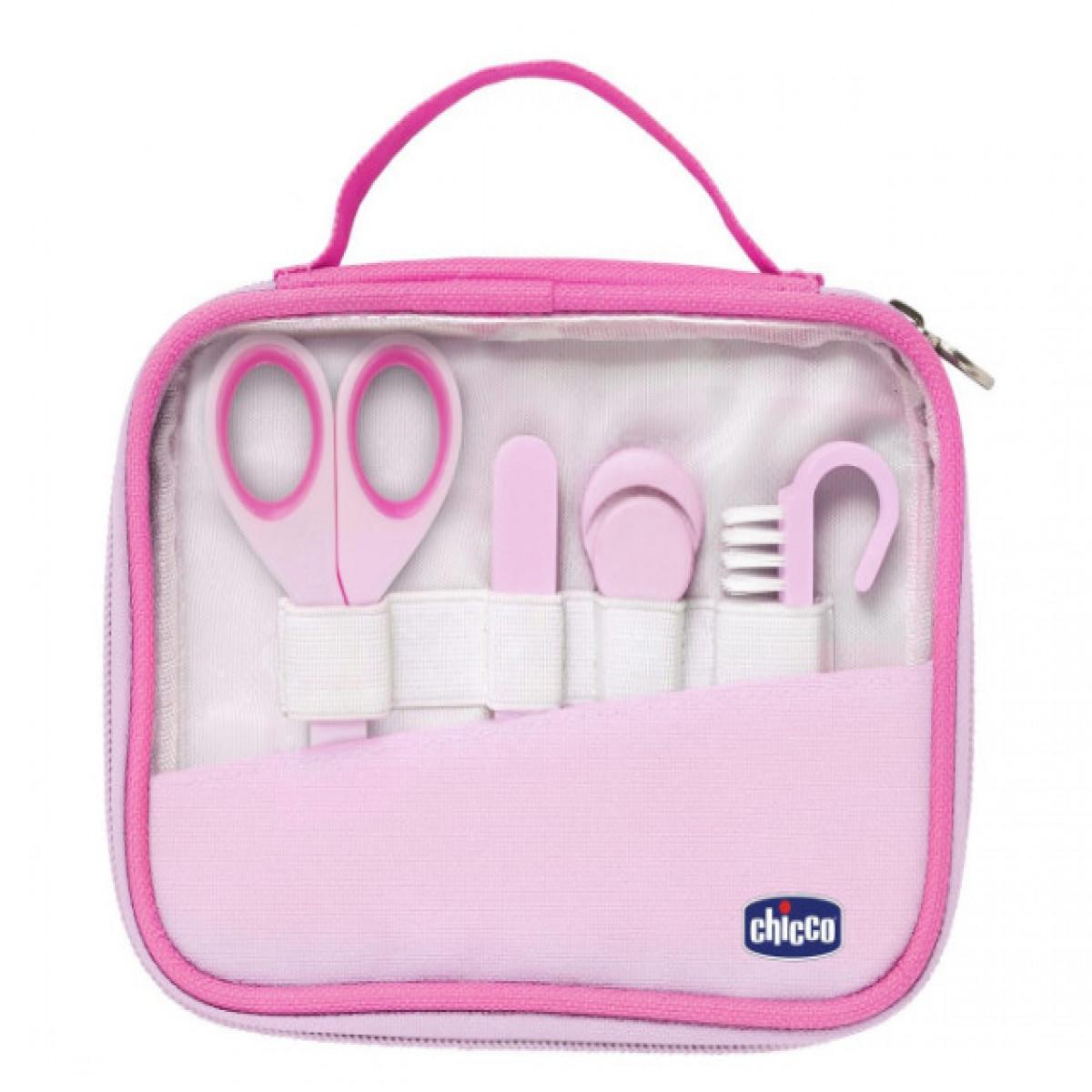 Set de higiene  Chicco rosa