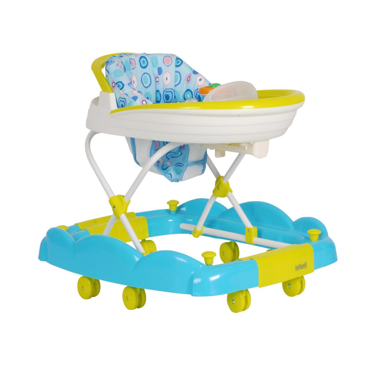 Andador y Mecedor 2 en 1 Infanti azul
