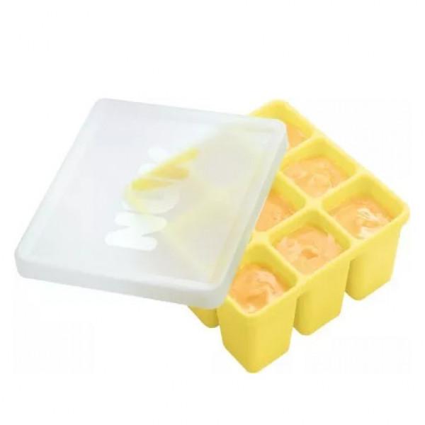 Cubetera para alimentos Nuk Amarillo