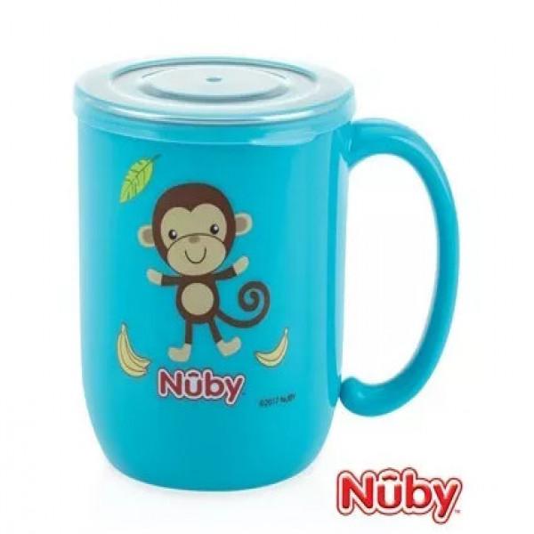 Taza interior de acero  Nuby azul