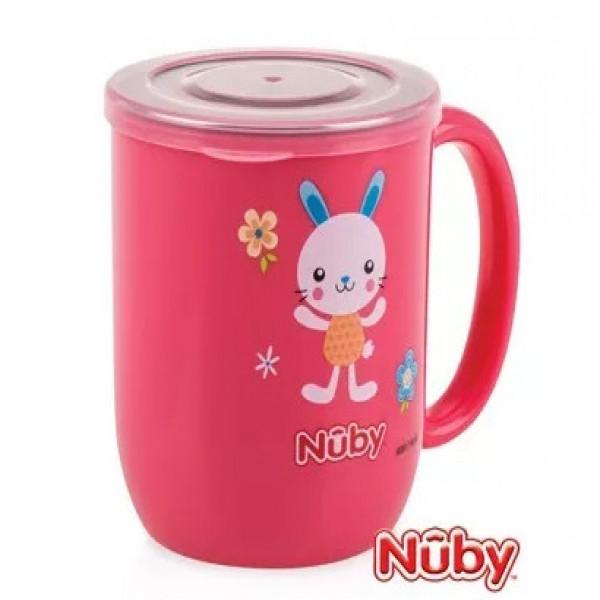 Taza interior de acero  Nuby Rojo