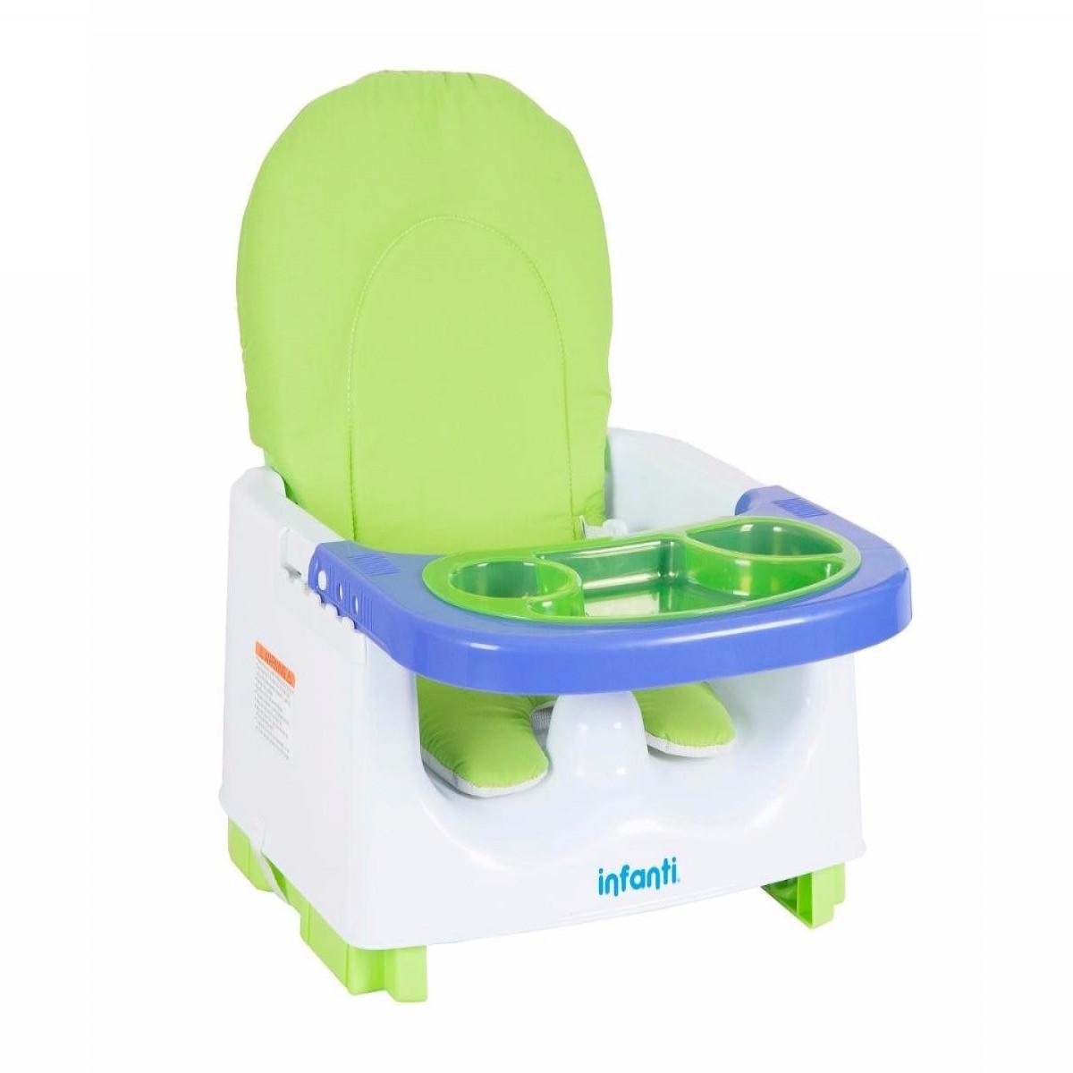 Booster de comer plegable Infanti verde