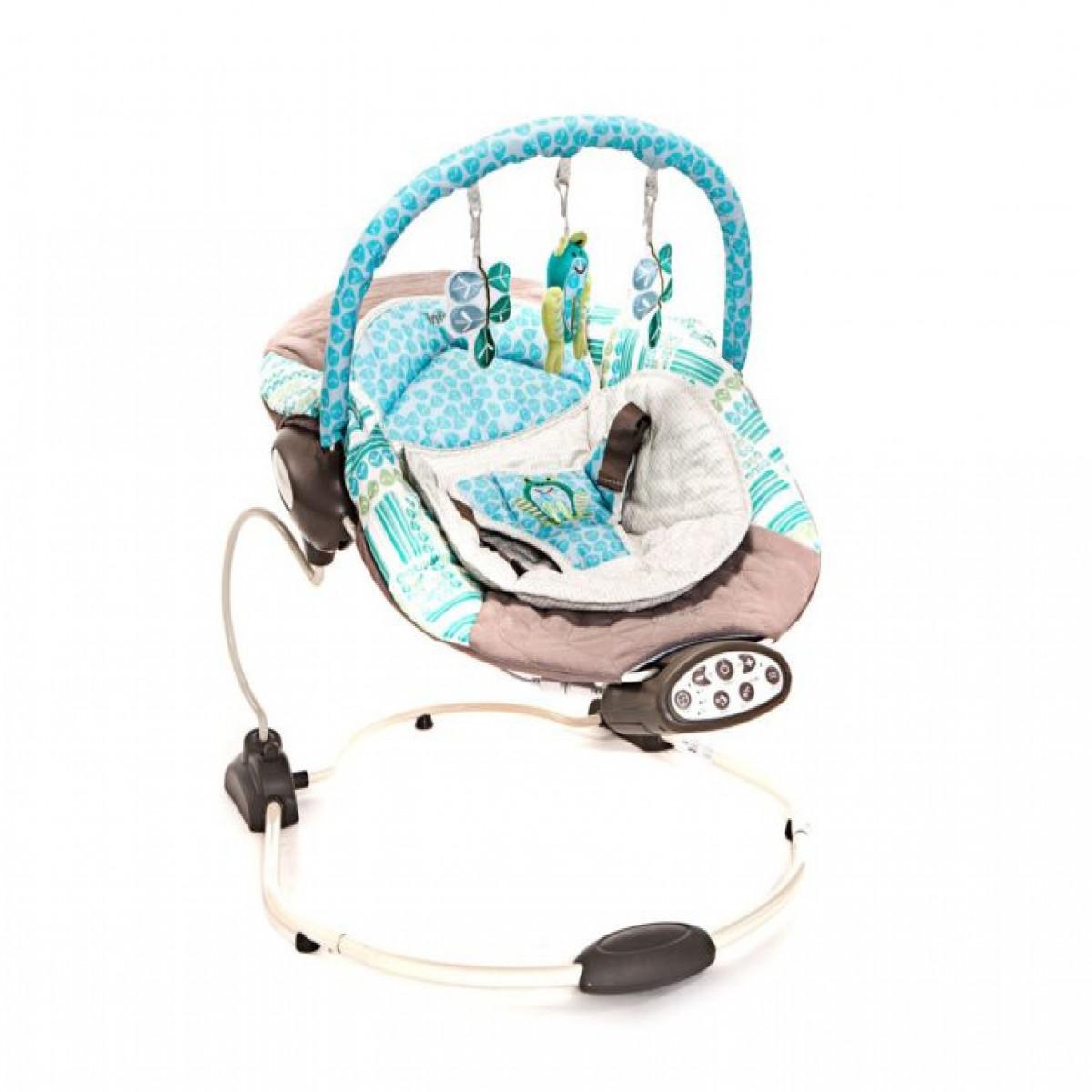 Mecedora musical vibrador Infanti turquesa