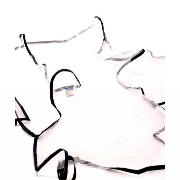Tul universal para coche  Infanti Blanco con bies negro