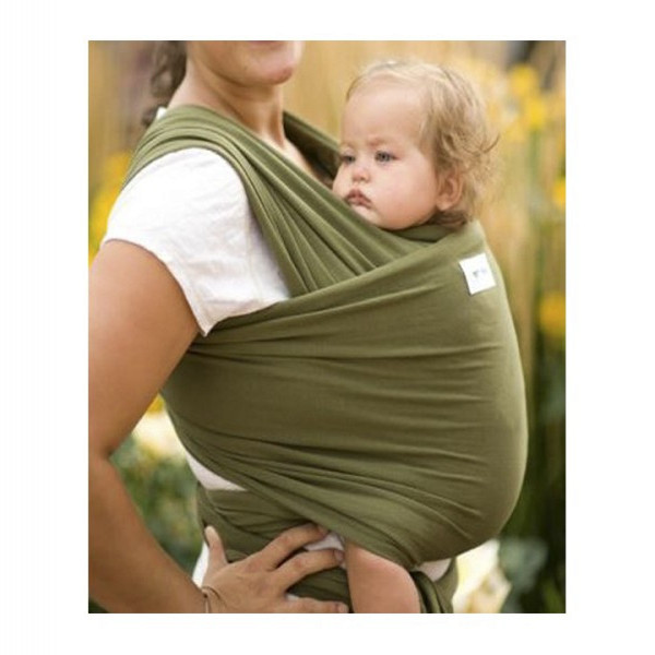 Fular porta bebé  Verde militar