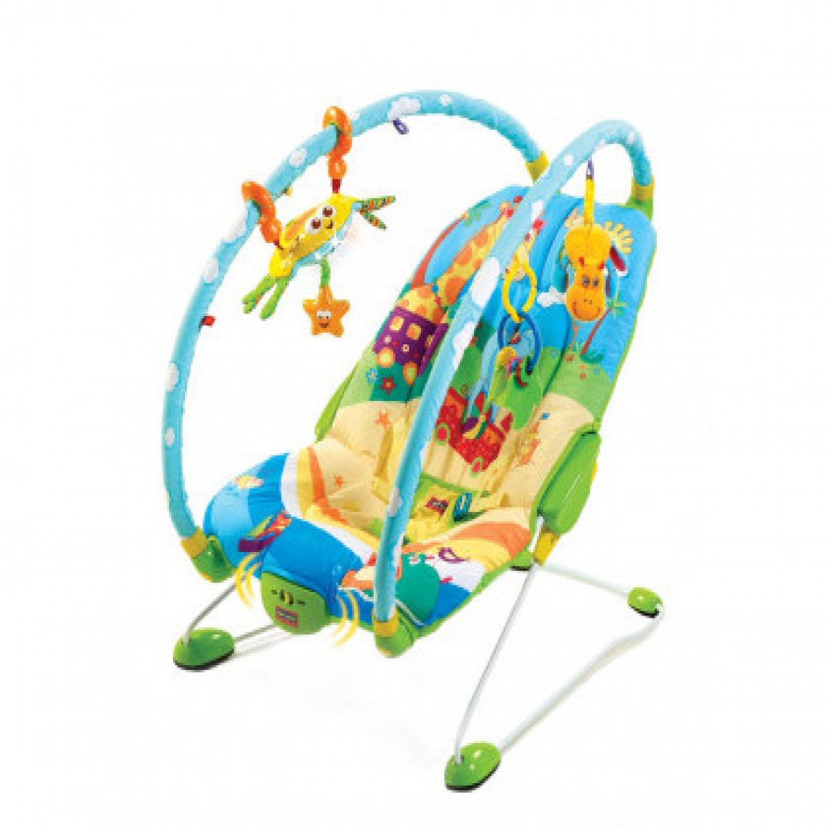 Mecedora Mini Gym Tiny Love verde