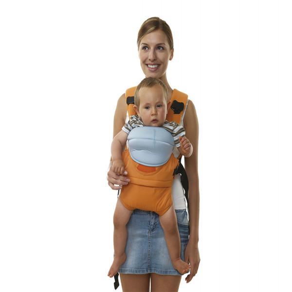 Mochila porta bebé 4 en 1  Azul