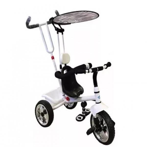 Triciclo Cebra Reforzado  Blanco y negro