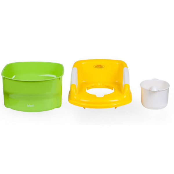 Pelela 2 en 1   Infanti Verde y amarillo