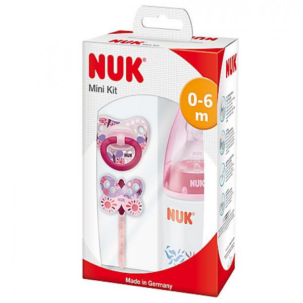 Kit recién nacido Nuk rosa