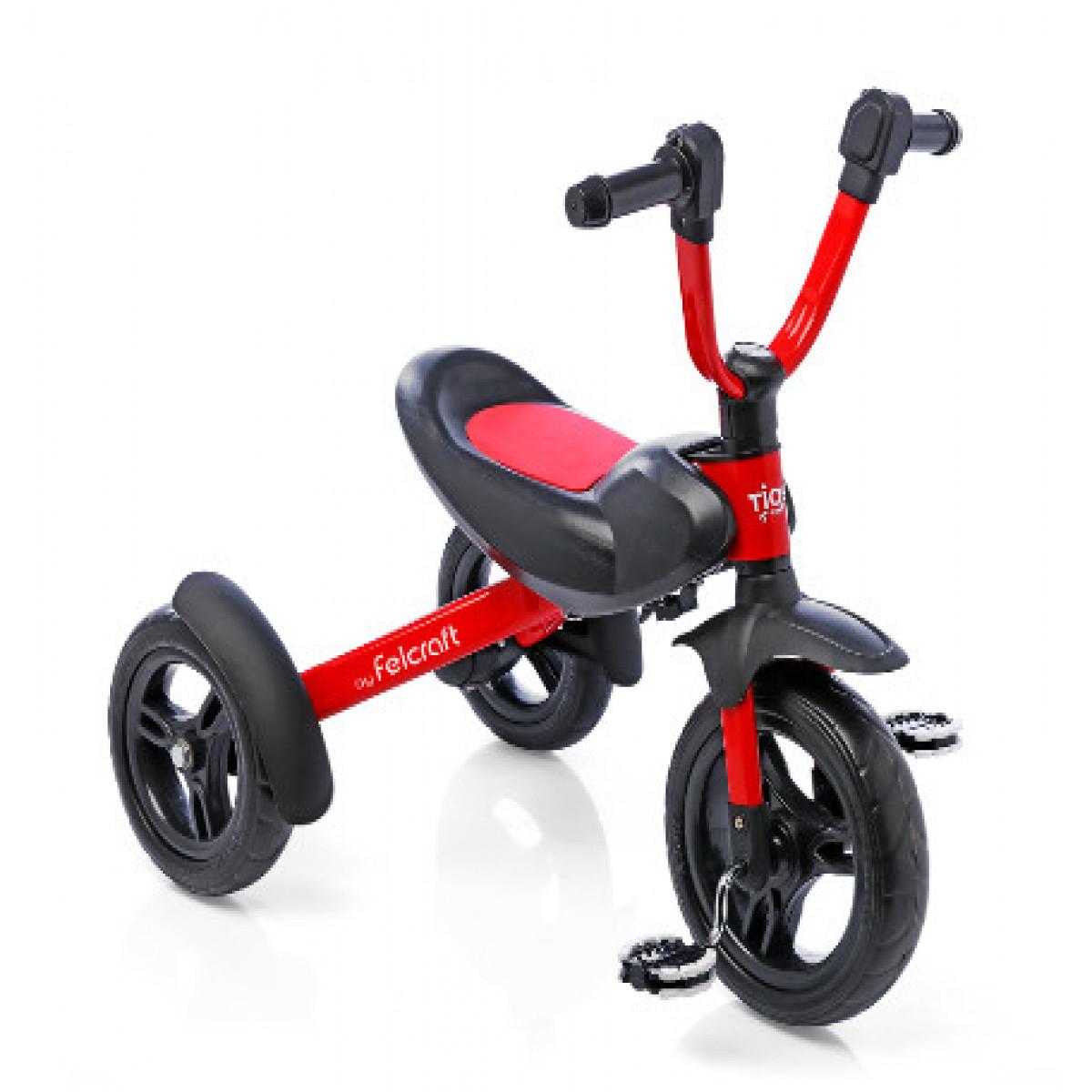 Triciclo Chopper Felcraft rojo