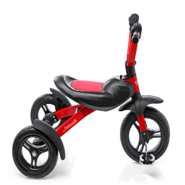 Triciclo Chopper Felcraft Rojo y negro