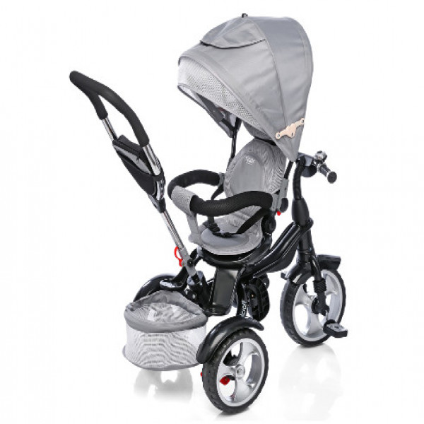 Triciclo 360 Spin Felcraft Gris