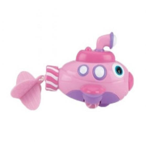 Submarino a cuerda Nuby Rosa