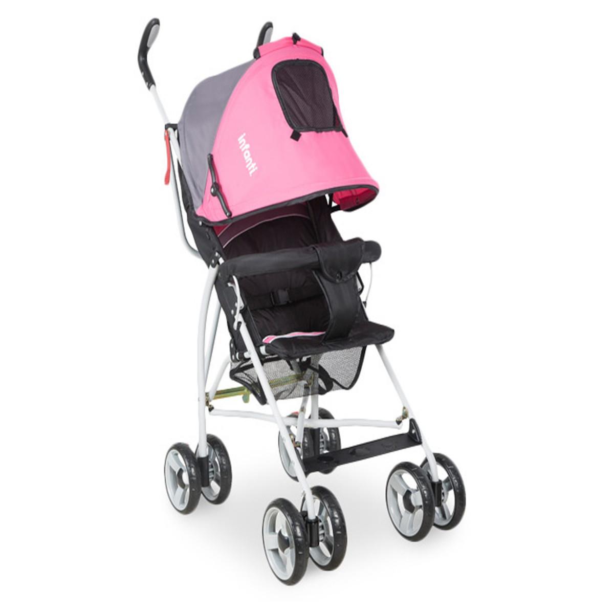 Cochecito Spin Paragüita Infanti rosa