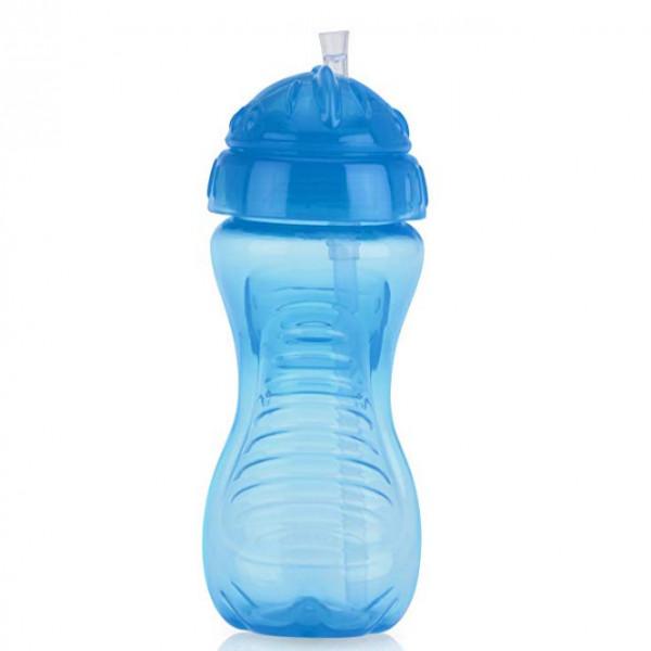 Vaso con sorbete Nuby Azul