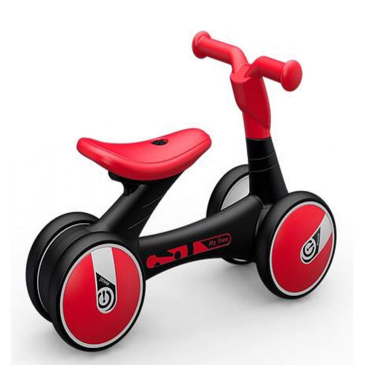 Bici de arrastre 18 a 36m Tiovivo rojo