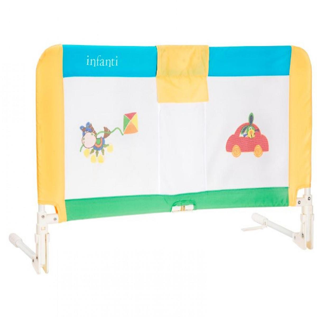 Baranda plegable para cama Infanti verde
