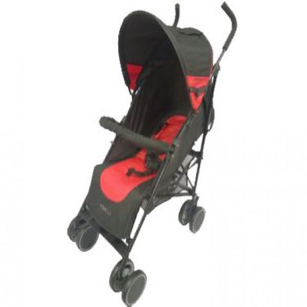 Paragüita Koom Reforzado  Infanti Rojo y negro