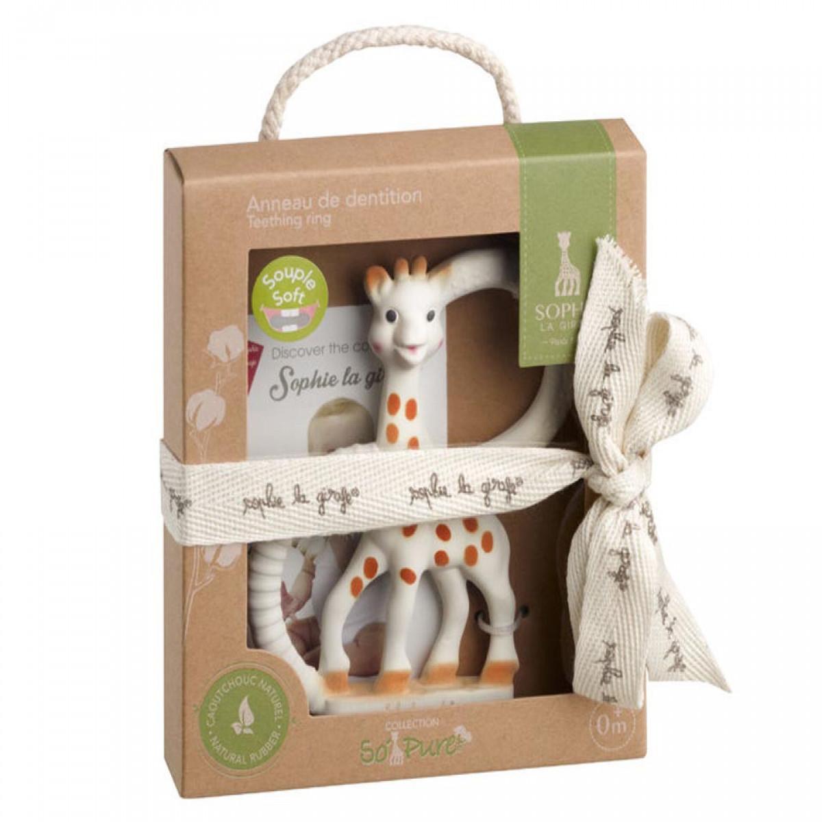 Anillo de dentición +0m Sophie La Girafe blanco