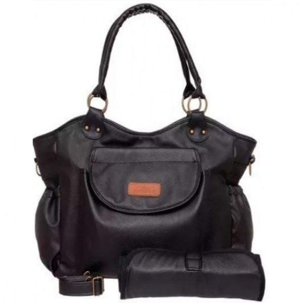 Bolso Milan Eco Cuero  Negro