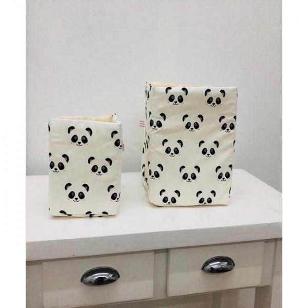 Organizadores cubo x 2  panda