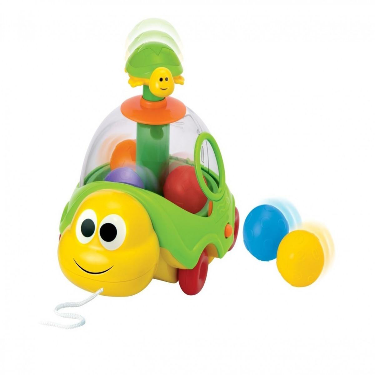 Lanza pelotas de arrastre Winfun verde