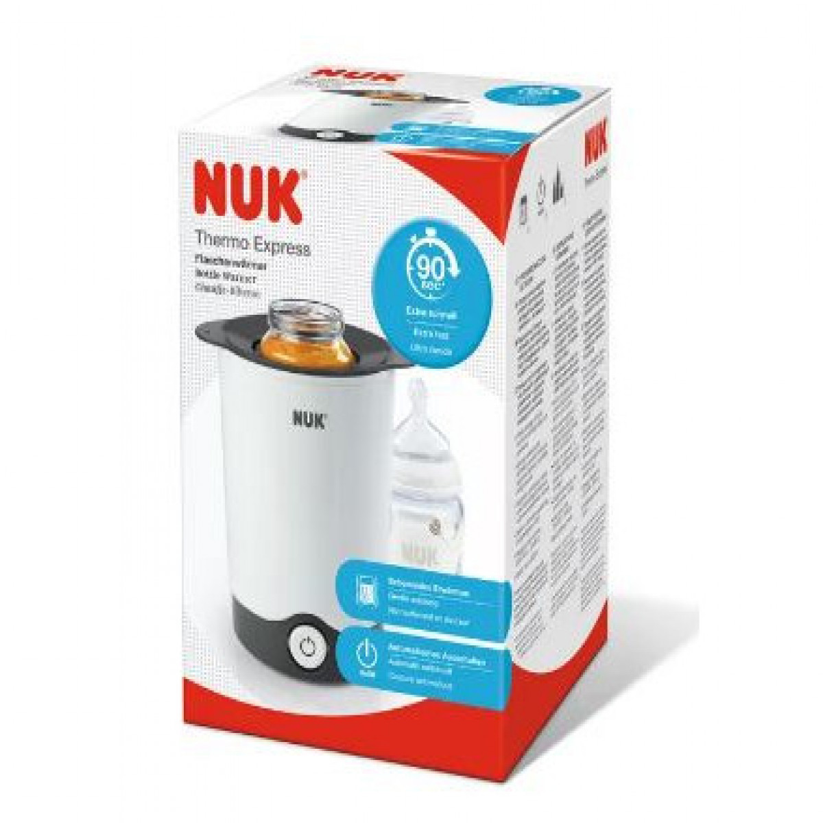 Calentador de mamaderas  Nuk blanco