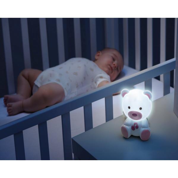 Osito Luz de Noche Chicco Rosa