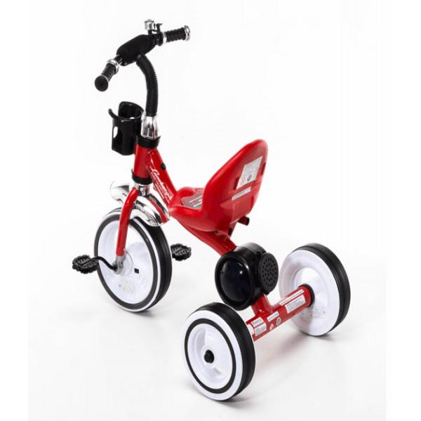 Triciclo con luces Lamborghini Rojo