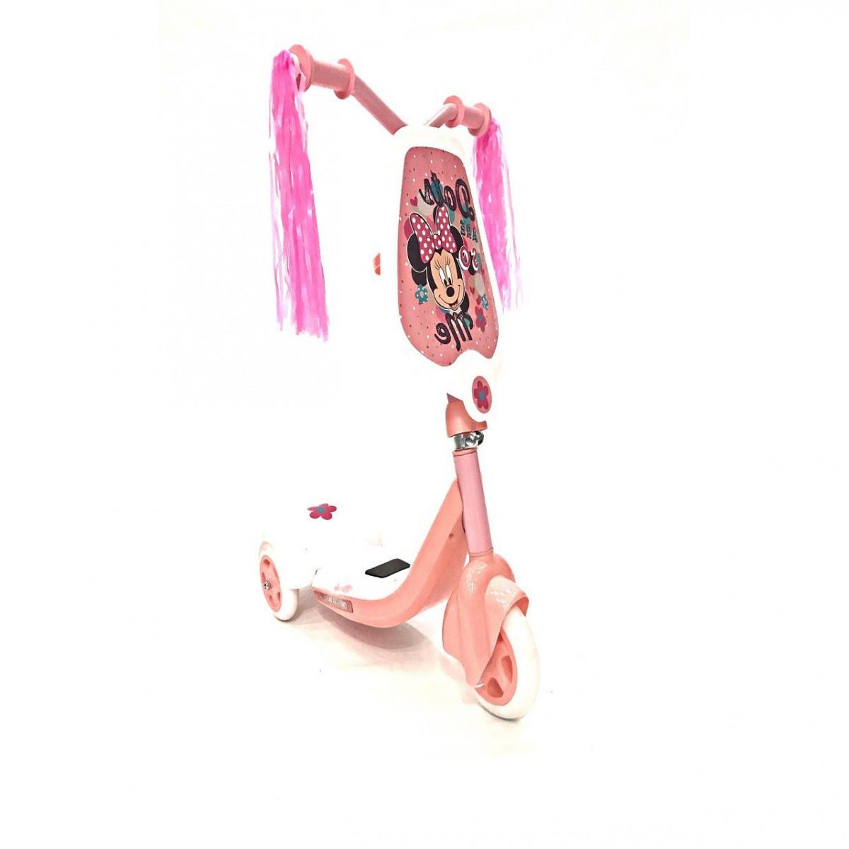 Monopatin 3 Ruedas Disney rosa