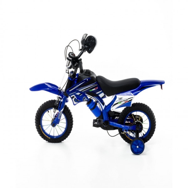Bicicleta estilo Moto Lamborghini Azul