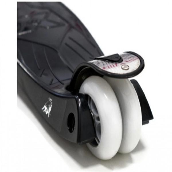 Monopatín Lamborgini con luz Lamborghini Blanco y negro