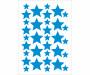 Vinilo estrella decorativo Pequeñitos Baby Shop Azul