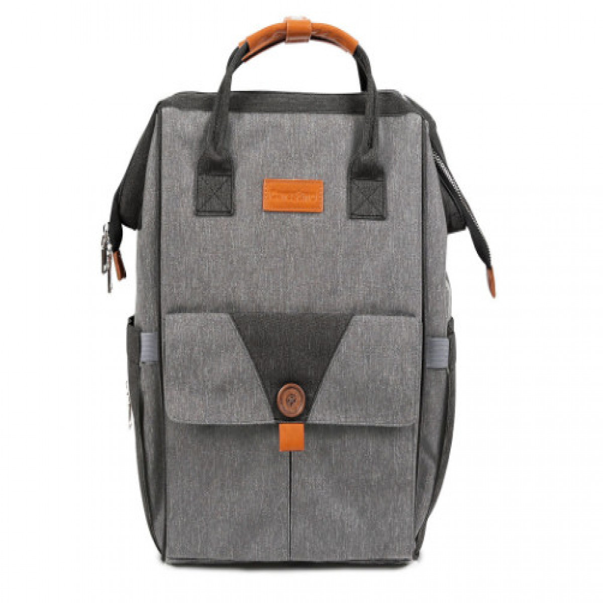 Mochila Maternal Milán Carestino gris