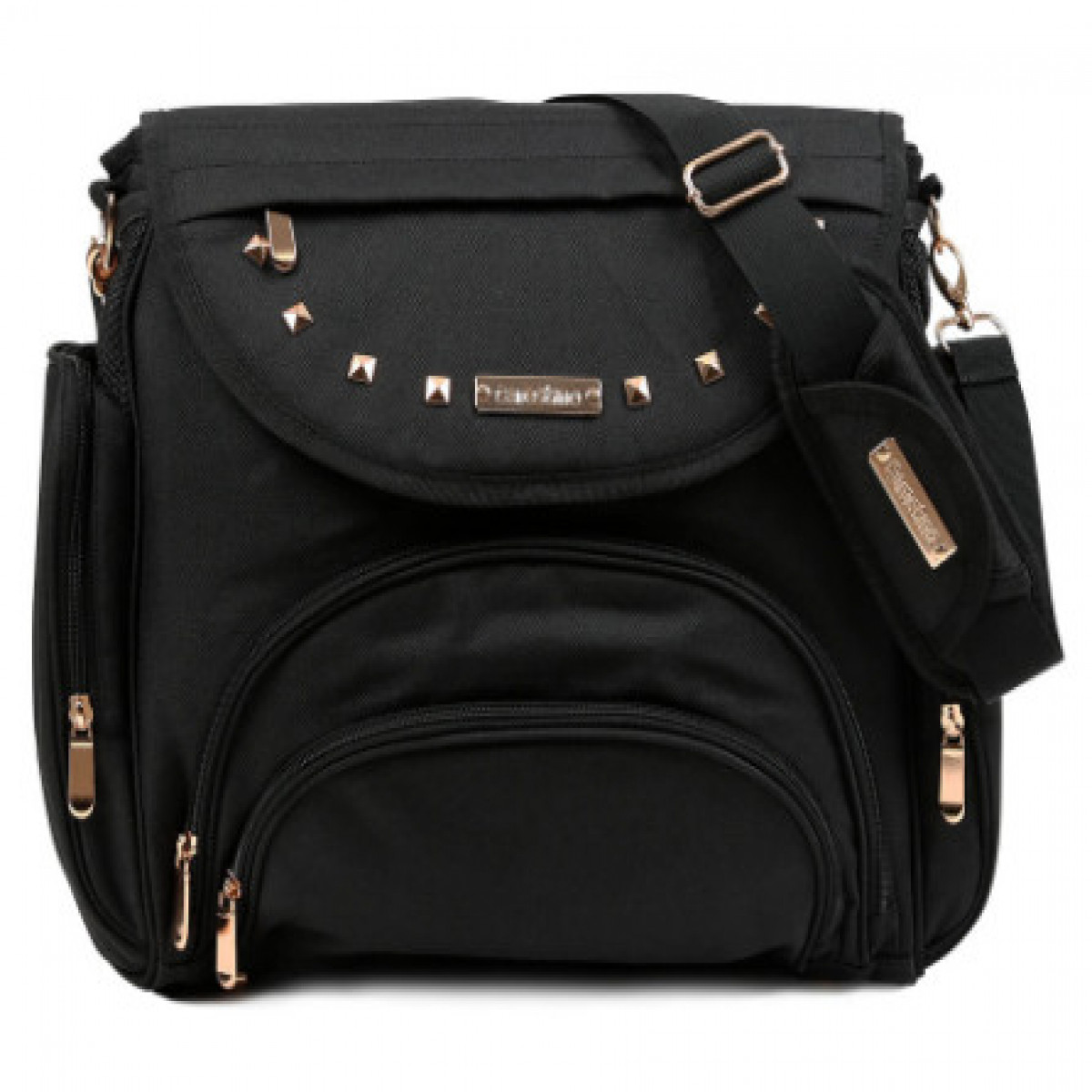 Bolso Maternal  Carestino negro