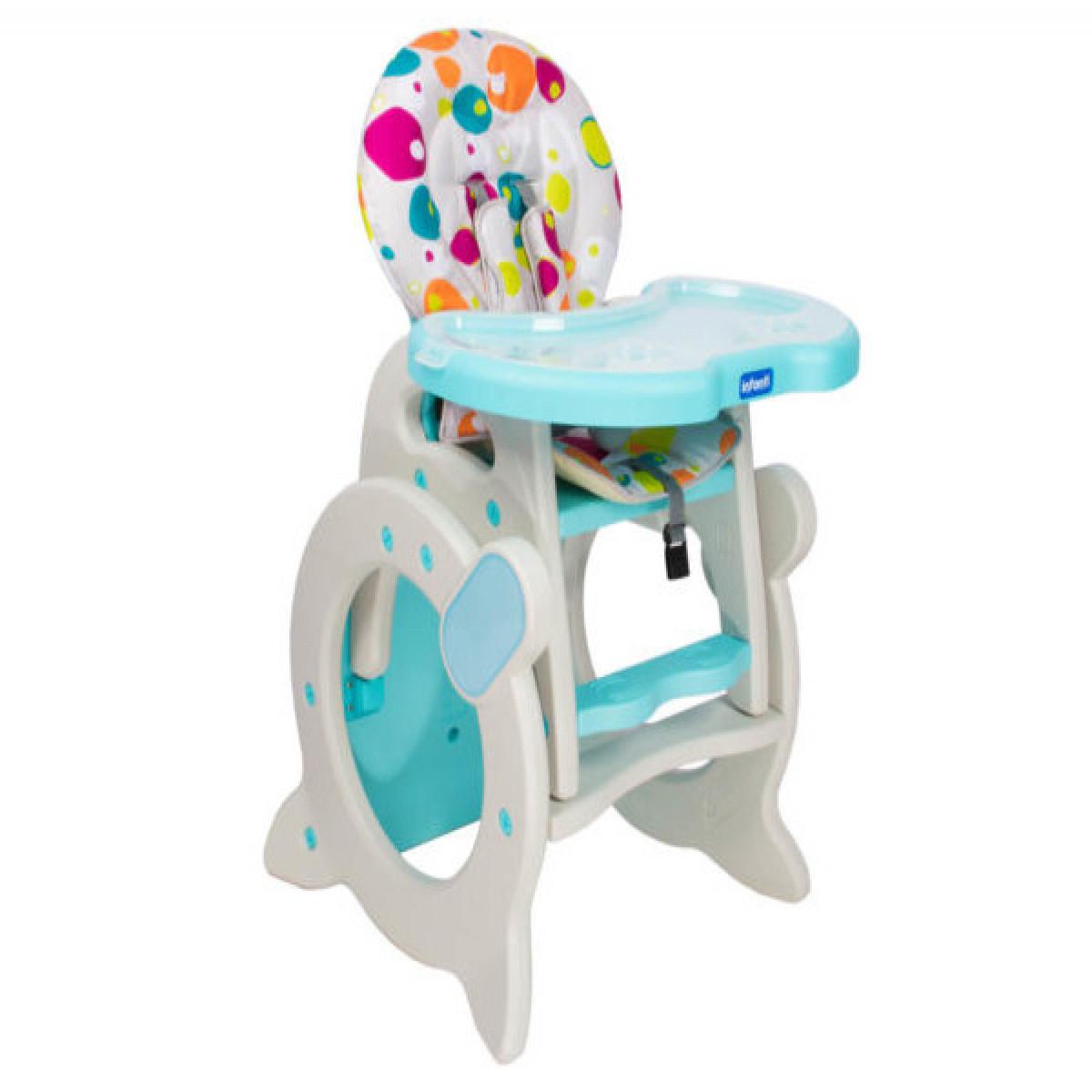 Silla de comer Etapas Infanti azul