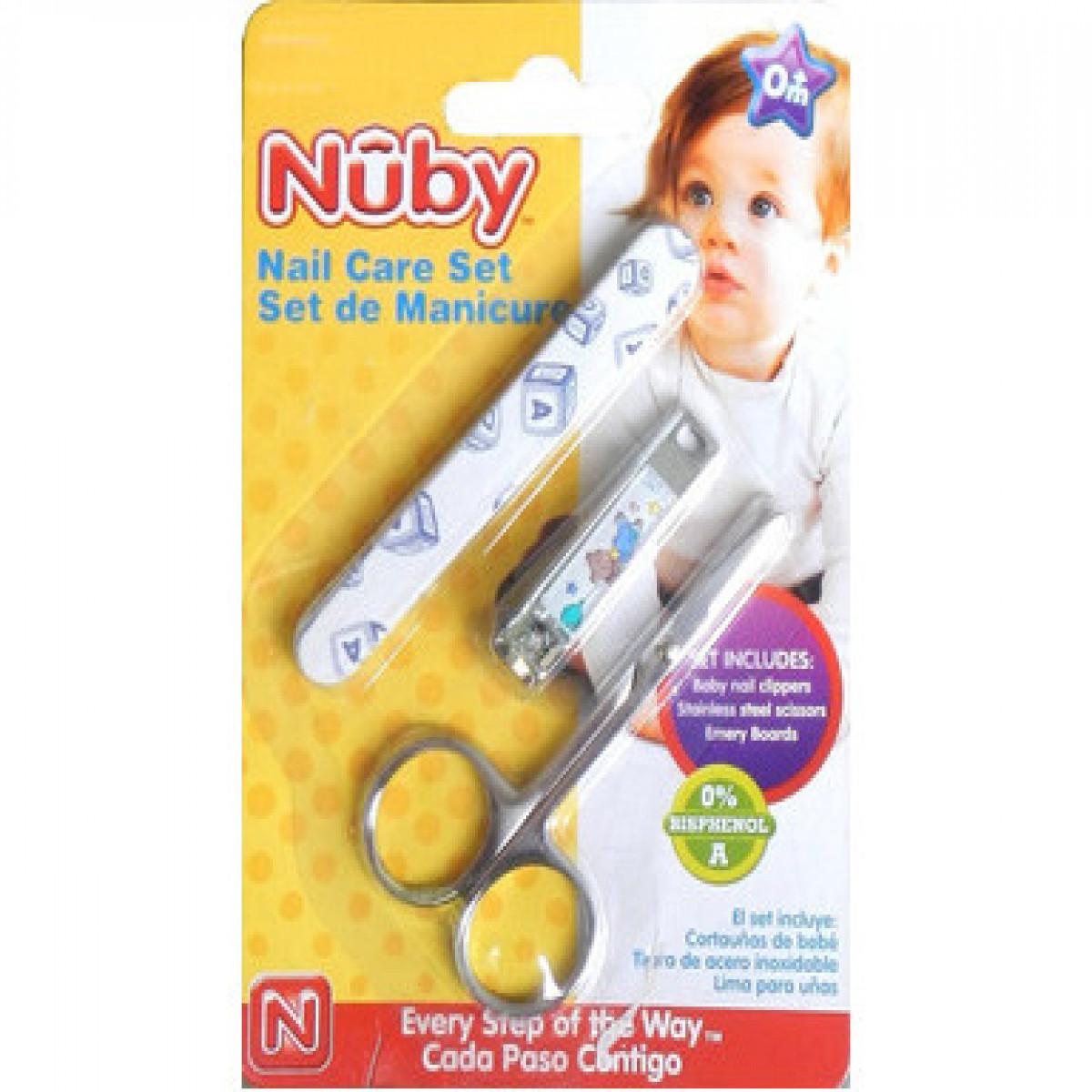 Set de manicure  Nuby celeste