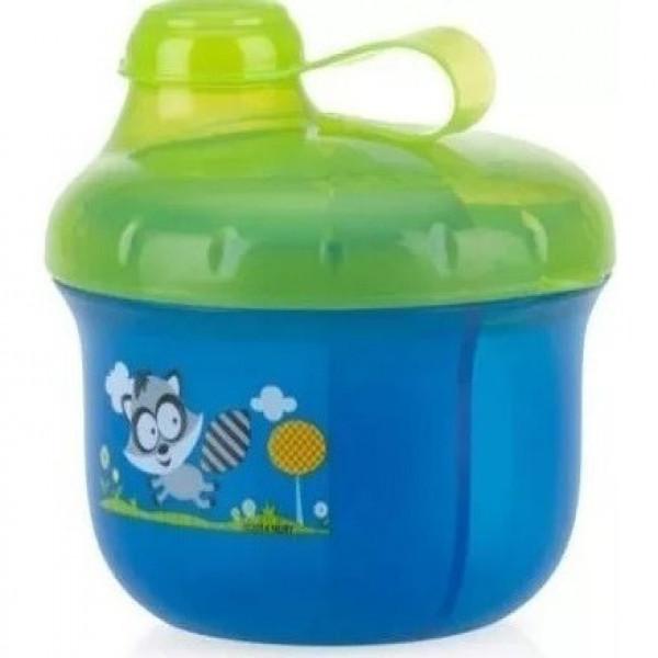 Dispenser de leche  Nuby azul y verde