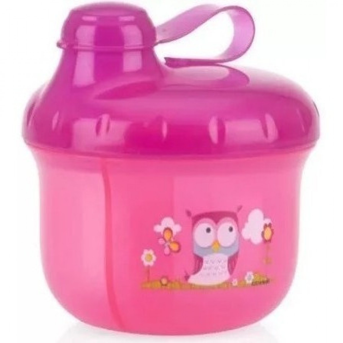 Dispenser de leche  Nuby rosa