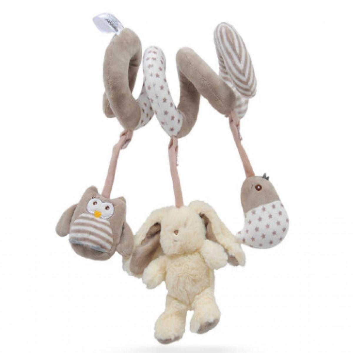 Cunero Espiral Conejo  Carestino beige