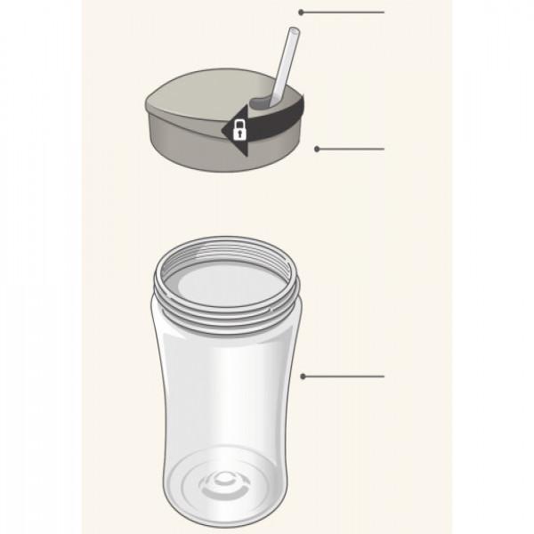 Vaso Action Cup Nuk Lila