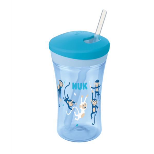 Vaso Action Cup Nuk Azul Mono