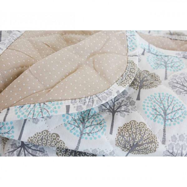 Cobertor Practicuna  Carestino Árboles