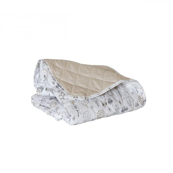 Cobertor Practicuna  Carestino Buho