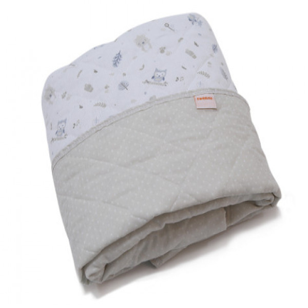 Cobertor Practicuna  Carestino Blanco